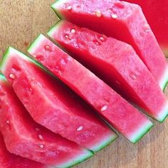 Need a good snack for the weekend? Dig in to some watermelon to satisfy your sweet tooth - the healthy way.