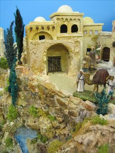 Mansions, House Styles, Home Decor, Nativity Scenes, Dioramas, Decoration Home, Manor Houses, Room Decor, Villas