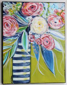 My Art Adventures: Abstract Florals
