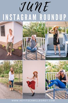 June Instagram Roundup 2019 | Hey Its Camille Grey #instagram #insta #instaroundup #fashion