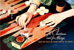 Vintage Ad for Lucky Strike (not backgammon)