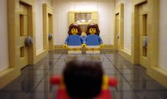 Tell me this isn't one of those really creepy LEGO ideas that run through your brain! recreating-movie-scenes-from-lego-alex-eylar-the-shining-600x360