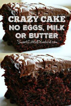 Eggless Recipes, Baking Recipes, Cake Recipes, Dessert Recipes, Baking Ideas, Vegan Desserts, Just Desserts, Delicious Desserts, Yummy Food