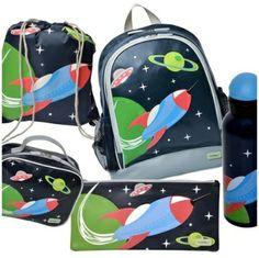 Bobble art Rocket! Bobble Art, Back 2 School, Lunch Box, Backpacks, Bags, Handbags, Back School, Bento Box, Women's Backpack