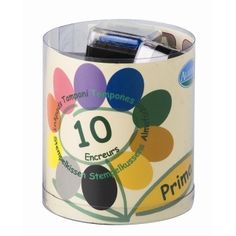 Stampo Colors Prima - 10 encreurs embossables