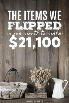Learn what we flipped to make over $21,000 in only a month | Flea Market Flipper | Today we are going to dive into what we flipped last month (which includes our largest flip of the year!). Click to learn which items are best for your flipping side hustle #flipping #sidehustle #makemoney #earnmoney #extracash #income #workfromhome #stayathomemom