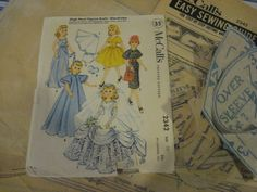 ORIGINAL Doll Clothes Pattern 2342 for 20 inch Revlon Toni Sophisticate Cindy #McCalls