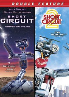 Short Circuit & Short Circuit 2 [Import]:Amazon:DVD