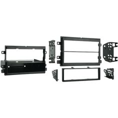 2004 - 2010 Ford(R) F150/Lincoln/Mercury Single- or Double-DIN Installation Kit - METRA - 99-5807
