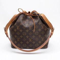 Louis Vuitton Petit No Monogram Shoulder bags Brown Canvas M42226