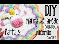 Mantita de Apego Unicornio / Tutorial Crochet   Crochet y Dos agujas - Patrones de tejido