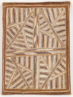 Wandjuk Marika ~ Djang'kawu Story - The Sun Rising, 1959-aborigine