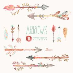 feathered arrow clip art - Google Search