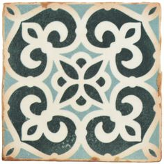 The SomerTile 4.875x4.875-inch Chronicle Bakula Ceramic Floor and Wall Tile adds a bit of brightness to the Chronicle collection. Semi-vitreous and easy to maintain, this tile is perfect for any space inside your home or facility.