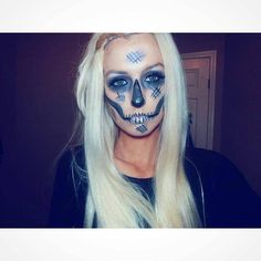 Mind-Blowing Halloween Makeup  Makeup by @beautyybychelsea