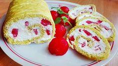 Zabos piskóta, diétás tejszínnel és görögdinnyével🍉 Evo, French Toast, Breakfast, Morning Coffee
