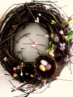 #DIY #Homemade #Whimsical #Spring #Easter #Holiday #Wreath