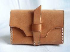Leather card holder-SR