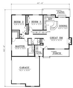 Country House Plan 91869