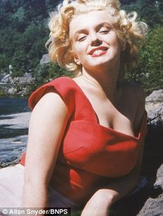 Marilyn in her prime: Monroe poses at the aged of 27 for her trusted make-up artist in never-before-seen pictures