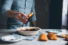 Chocolate Hazelnut Long Johns | O&O Eats