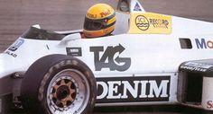 Primeiro teste de Senna na Williams