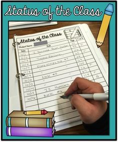 Status of the Class is a tool that I use in my classroom to engage, reinforce, and monitor my students reading habits. Heres how it works my classroom...- I keep a binder full of Status of the Class forms for each of my students. At the top of each page I record their names. - During our independent reading time, I flip through the pages and call out each students name, one at a time.