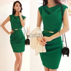 New-Korea-Women-Sexy-Optical-illusion-Bodycon-Stretch-Evening-Party-Pencil-Dress