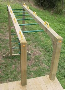 monkey bar for kids fort #playhousesforoutside