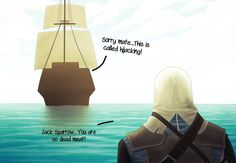 GTA Black Flag by ziqman on DeviantArt Assassins Creed Funny, Assassins Creed Black Flag, Assassin's Creed I, Connor Kenway, The Evil Within, Fandoms, Pirates Of The Caribbean, Game Character, Assassins Creed Logo