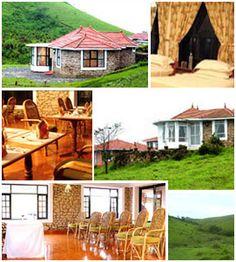 Ananya Hill Resort Vagamon, Kerala, India Hills Resort, One With Nature, Kerala India, Resorts, Hotels, Cabin, In This Moment, House Styles, Plants