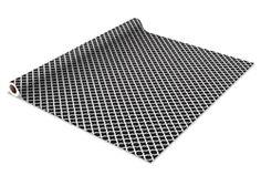 Self Adhesive Shelf Liner - Black Designer Dorm Wall Decorations Line Shelves Paper Stick On