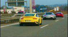 the 3 wise men driving in Stuttgart, Germany.