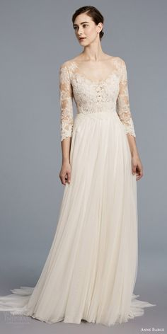 Anne Barge Spring 2018 Wedding Dresses New York Bridal Fashion Week Runway Show