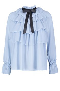 Boohoo Outfits, Cute Fashion, Fashion Outfits, Pastel Outfit, Cute Blouses, Business Casual Outfits, Beautiful Blouses, Elegant Outfit, Blouse Designs