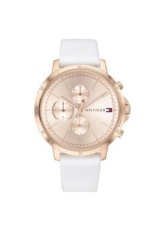 Neutral Tones, Michael Kors Watch, Tommy Hilfiger, White Gold, Trends, Watches, Leather, Accessories, Women