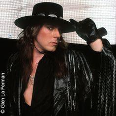 Don Dokken - cowboy hat, leather, etc.
