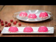 Муссовые пирожные «Малина» - YouTube Fondant Flower Cake, Fondant Baby, Fondant Cakes, Frosting Techniques, Frosting Tips, Fancy Desserts, No Bake Desserts, Raspberry Mousse, Gum Paste Flowers