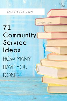 71 Unexpected Ways To Volunteer As A Family Community Project Ideas, Community Service Projects, Community Service Quotes, Volunteer Work, Volunteer Ideas, Diy Volunteer Projects, Volunteer Gifts, Volunteer Appreciation, Service Projects For Kids