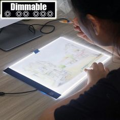 UK LED Light Pad Stander Computer Stand Laptop Holder DIY Diamond Painting Rack