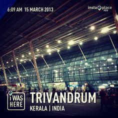 Trivandrum International Airport (TRV) in Thiruvananthapuram, Kerala