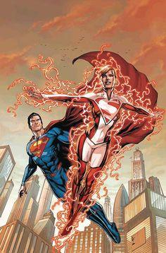 Superman & Lana Lang