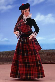 <em>Scottish</em> Barbie® Doll 1st Edition