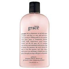 Philosophy Amazing Grace Bath, Shampoo & Shower Gel.