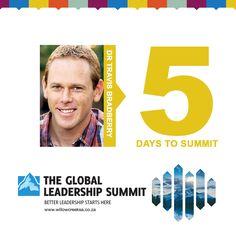 5 Days to Summit #gls16 @wcagls @willowcreeksouthafrica