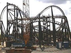The Aerosmith Rock 'N' Roll roller coaster at Disney's Hollywood Studios before the building was built around it. This ride is one of my very favorite Disney rides. Disney World Resorts, Disney Parks, Walt Disney World, Disney Rides, Disney Vacations, Disney Dream, Disney Magic, Disney World Hollywood Studios, Disney Theme