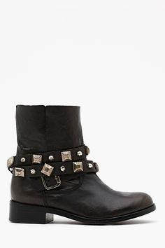Caris Studded Boot Nasty Gal $185