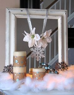 Winter Decorating After Christmas | 44 Cozy Winter Mantle Décor Ideas » Photo 31