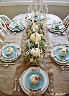 Setting the Table for Thanksgiving | Walking on Sunshine: Setting the Table for Thanksgiving