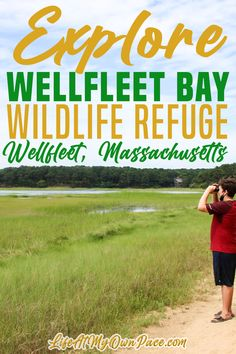 Wellfleet Bay Wildlife Sanctuary has miles of trails for you to explore. The 1200-acre Wellfleet Bay Wildlife Sanctuary provides peace and unmatched beauty on the hillsides and shoreline overlooking Wellfleet Harbor. Enjoy great family fun activities at the Wellfleet Bay Wildlife Sanctuary with 5 miles of nature trails, aquariums, exhibits, and education programs! | Life at My Own Pace @lifeatmyownpace #wellfleetbay #audbonsociety #Massachusettsvacation #audbonpark #lifeatmyownpace Travel Usa, Travel Tips, Travel Ideas, York Beach, East Coast Road Trip, New England Travel, Disney Trips, Disney Travel, Us Destinations